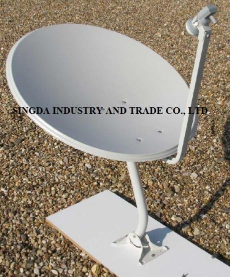 Ku Band Satellite Dish 75cm with SGS Certification