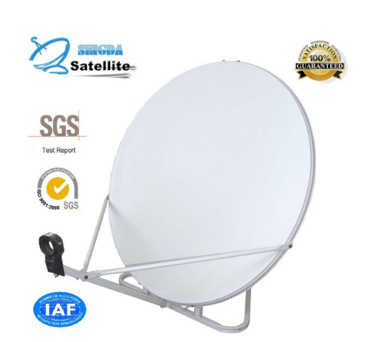 Ku-Band 90cm Offset Satellite Antenna with SGS Certification
