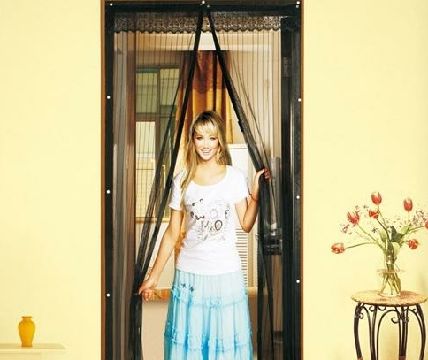 Magnetic Door Mosquito Nets Closing Automatically