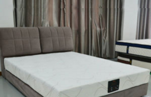 Memory Foam Compress Mattress with UK Fire Retardant
