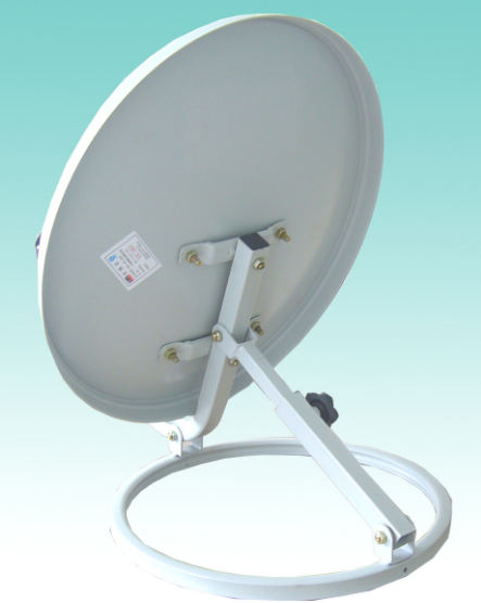 Ku Band 45cm Offset Satellite Dish Antenna with Circle Base
