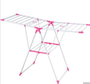 Fast Moving Pink Powder Coated Color Clothes Rack (JP-CR109P)