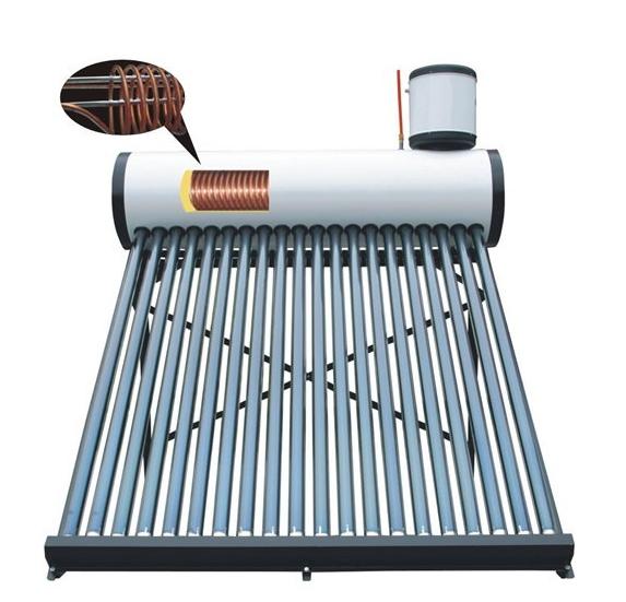 Copper Coil Calentador De Agua Solar Heater with CE Certificate