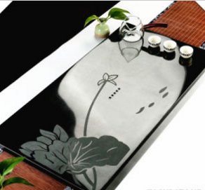Top Grade China Granite Tea Tray/Set Hot Sales/Indoor Decoration