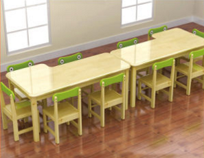 Children Wooden Preschool Classroom Tables for Kids (WKF-164B)