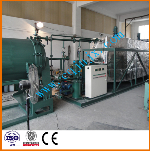 Used Mobil Oil Recycling Machine to New Oil Through Chemical