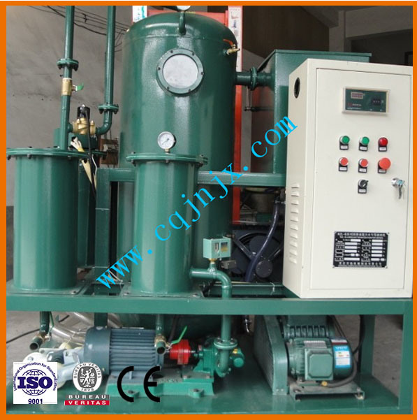 Waste Lubricant Oil Filter Machine Lube Oil Purifier Plant