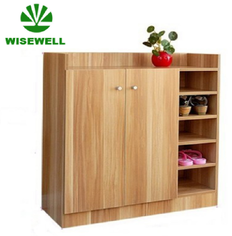 WYJ-001 Wood Fashion Shoe Organizer Storage Cabinet