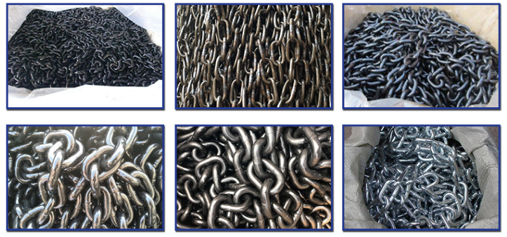 Factory Supplied High Strength Marine Anchor Chain