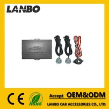 1 control box, 2 sensors, 1 buzzer with power lines car parking sensor system