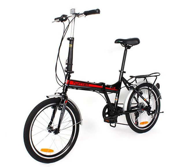 Cheap 7speed 20inch Wheel Adult Aluminum Alloy Folding Bike