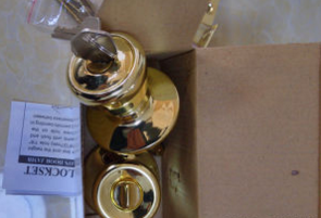 Brass Knob Lock, Door Lock, Indoor Lock Al-Sg6076SA