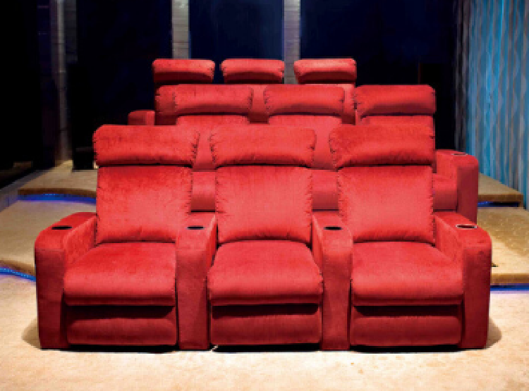 Home Cinema Fabric Sofa 845#