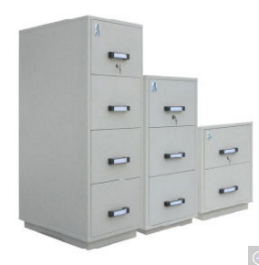 Fireproof Vertical Cabinets, UL Certificated Cabinets, Fire Resistant File Cabinet (UL824FRD-II Series)