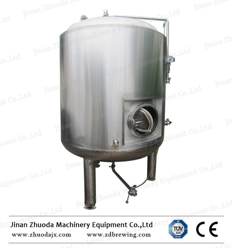 2000l storage bright beer tank