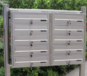 Special Design Stainless Steel Mailbox for Letters and Newspapers