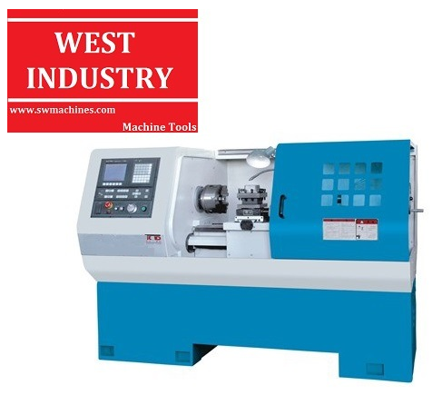 Flat Bed CNC Lathe with CE Standard