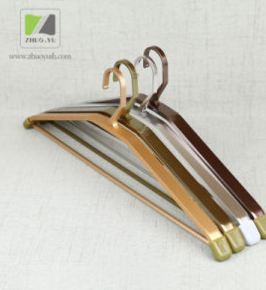 High Quality Various Color Aluminum Alloy Hanger with Trouser Bar