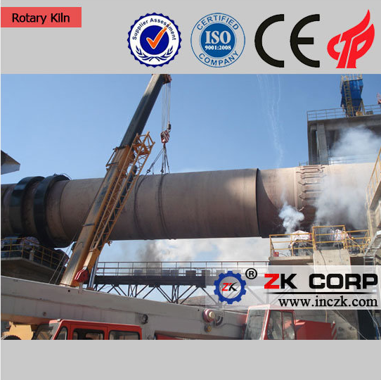 Light Burning of Dolomite Rotary Kiln/Zk First-Class Rotary Kiln