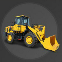 Sinomach Construction Machinery 3 Ton Front Wheel Loader