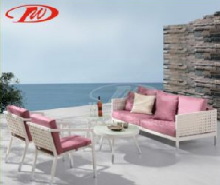 Outdoor Furniture, Patio Sofa Set, Wide Rattan Sofa Set (DH-9710)