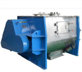 Horizontal Paddle Type Dual Shaft Mixer Machine for Powder Feedstuff