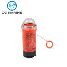 Water activated dry battery life jacket rescue light