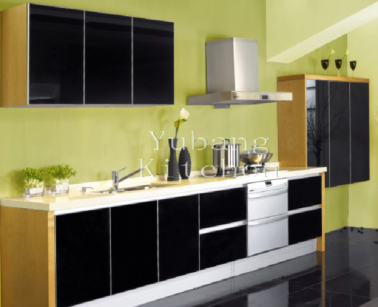 Baked Paint Kitchen Cabinet (M-L80)