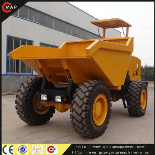 Building Machinery 4X4 10t Site Dumper