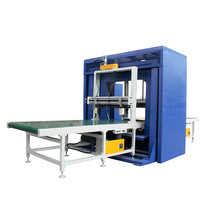 manufacturer automatic orbital stretch wrapper & horizontal wrapping machine