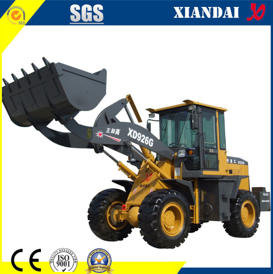 High Quality 2 Ton Wheel Loader Xd926g with Cummins Engine