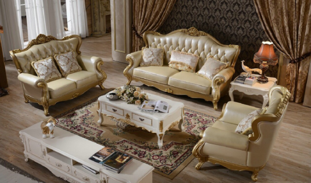 2015 Newest European French Style Classic Sofa