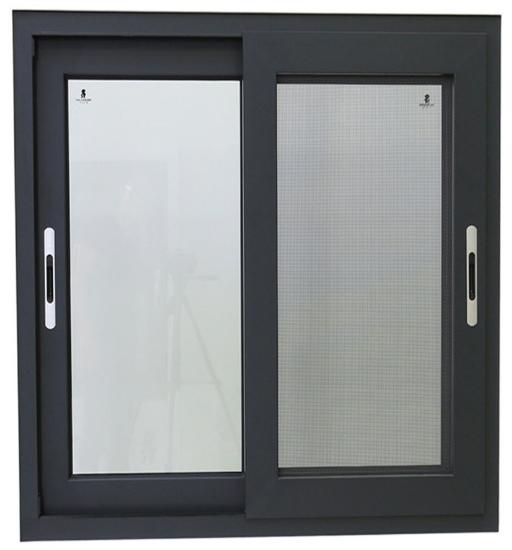 Popular Aluminiums Sliding Glass Window Price Design for Villa House