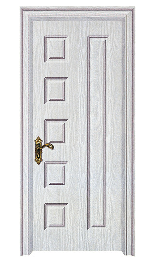 Plastic Louvered PVC Door (WX-PW-130)