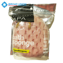 Good Quality Body Exfoliating colorful Mesh Bath Sponge