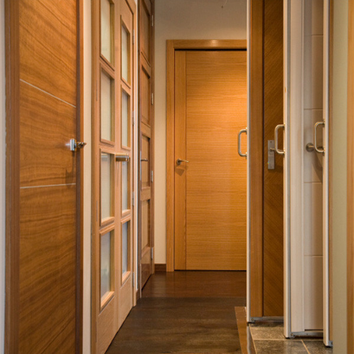 Non-Painting Wooden Door / Solid Timber Door / Solid Wood Door