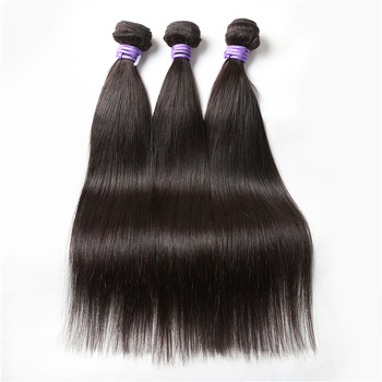 Factory manufacturer straight human hair extension unprocessed wholesale virgin brazilian straight hair