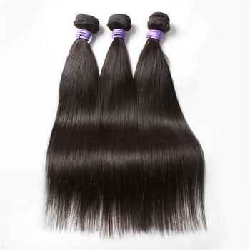 Factory manufacturer straight human hair extension unprocessed wholesale virgin brazilian straight hair