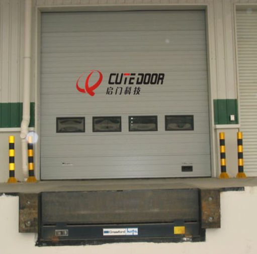 Finished Industrial Vertical Sectional Door Sectional Overhead Doors
