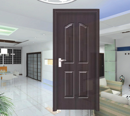 High Quality Interior PVC Wooden Door (HD-8011)