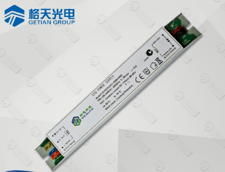 0-10V Dimmable LED Driver 40W 1000mA with Plastic Housing