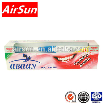 abaan Herbal fluoride toothpaste