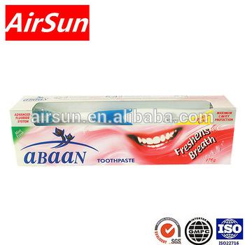abaan Herbal fluoride toothpaste
