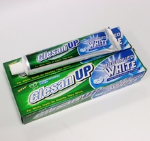 Clesan Up premium mint oil blended create amazing mint flavor freshen breathremove bacteria plaque toothpaste