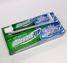 Clesan Up premium mint oil blended create amazing mint flavor freshen breathremove bacteria plaque toothpaste