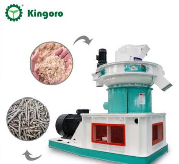 Vertical Ring Die Pine Sawdust Pellet Machine