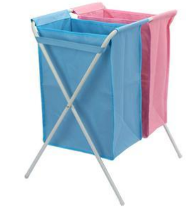 Popular Home Application Folding Canvas Foldable Basket to Storage Clothes