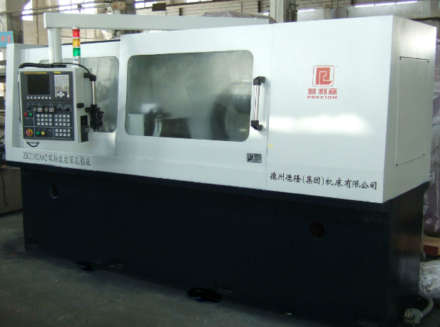 Zk2102A-4 Four Axis CNC Deep Hole Gundrilling Machine