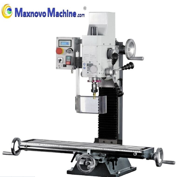 Stable Mini Drilling and Milling Machine with Longer Cross Table (mm-BF20LVario)