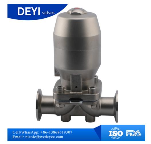 304/316L Sanitary Diaphragm Valve (DYTV-010)
